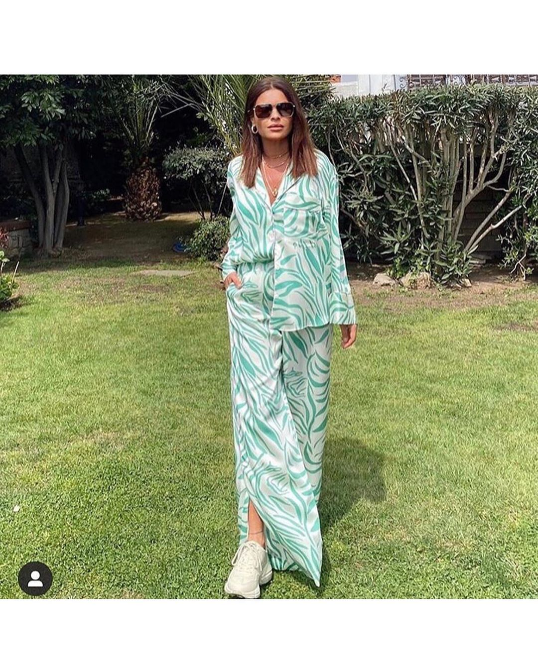printed pyjama type shirt de Zara sur look_by_zara_hm
