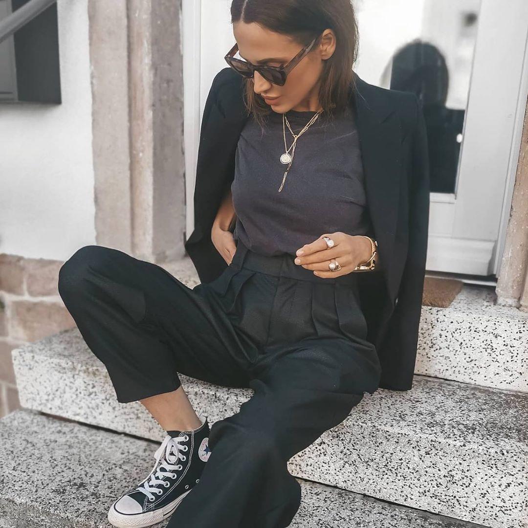veste à boutonnage croisé oversize de Zara sur zara.outfits