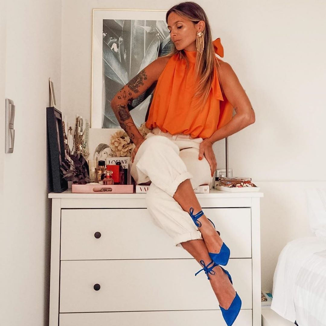chaussures à talons décolletées de Zara sur zara.outfits