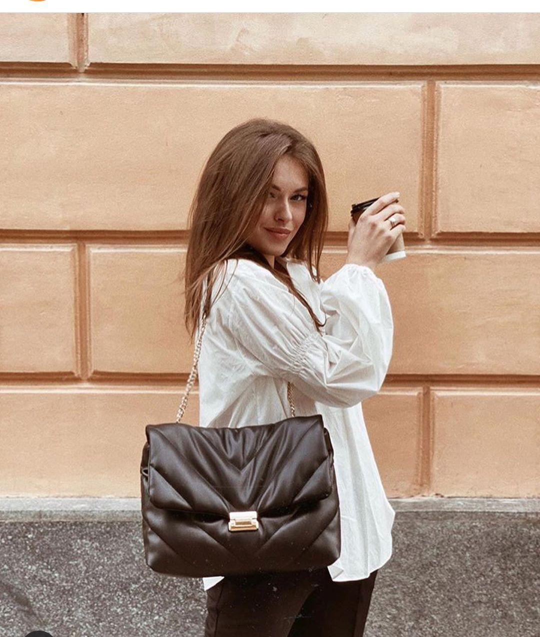 mini quilted crossbody bag de Zara sur look_by_zara_hm