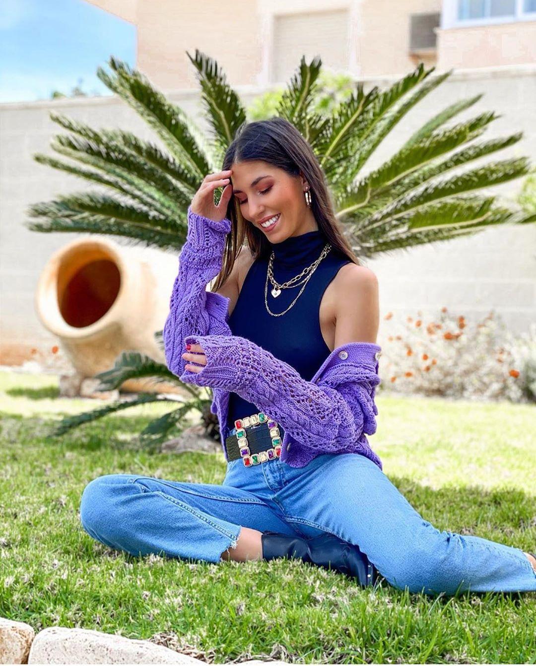 veste en maille structurée de Zara sur zara.outfits