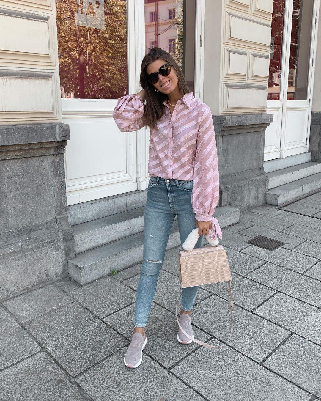 compact skinny mid waist jeans de Zara sur nooomsworld