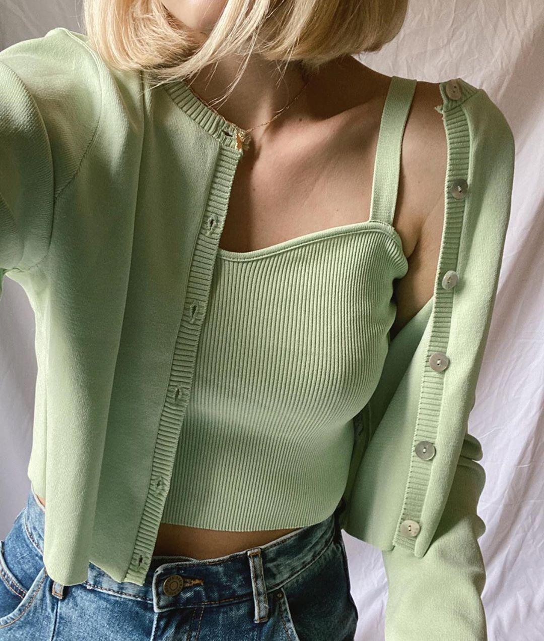 knit top de Zara sur zaraaddiction