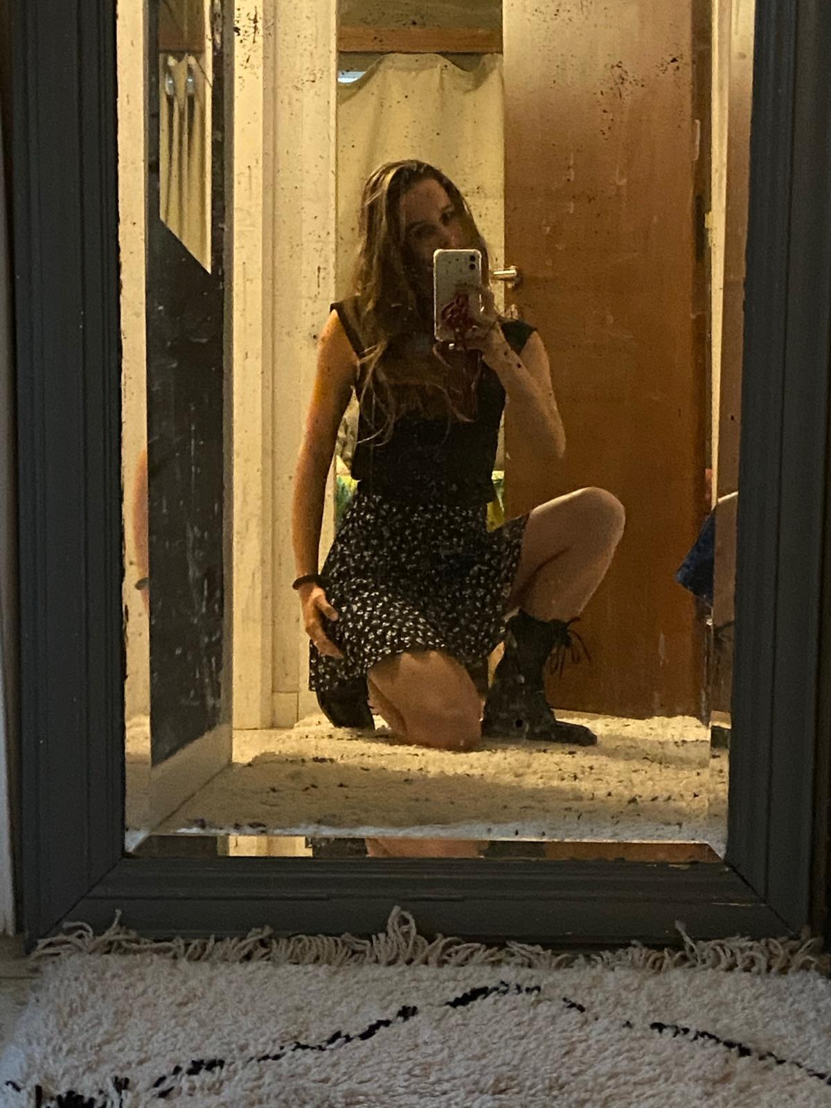 frill skirt-shorts de Zara sur Steph
